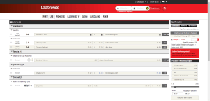 Live Sport Betting - Ladbrokes.be