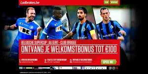 Supercup Promotie Ladbrokes.be